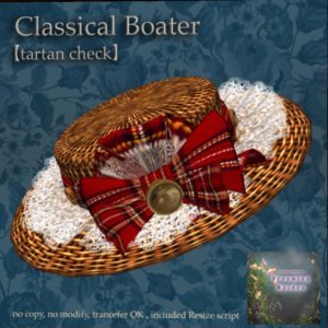 Classical Boater