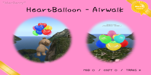 Heart Balloon-airwalk-POP