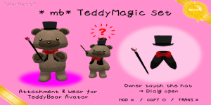 _ mb_ TeddyMagic set - -POP
