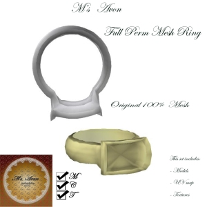 M's Avon full perm Ring